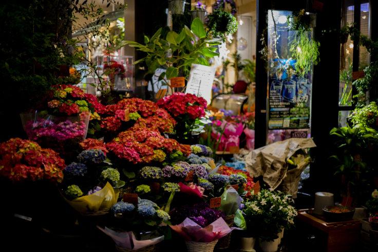 夜の花屋さん