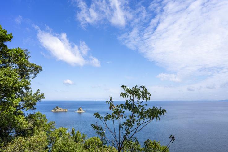 薦展望台から見た瀬戸内海