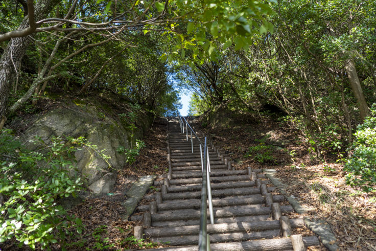 与治山公園階段