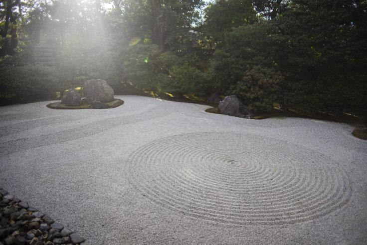 建仁寺の石庭2