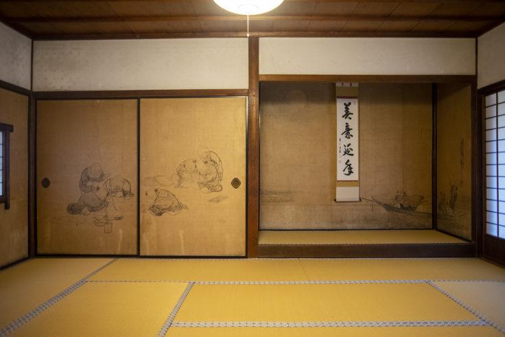建仁寺方丈「唐子遊戯図」田村月礁