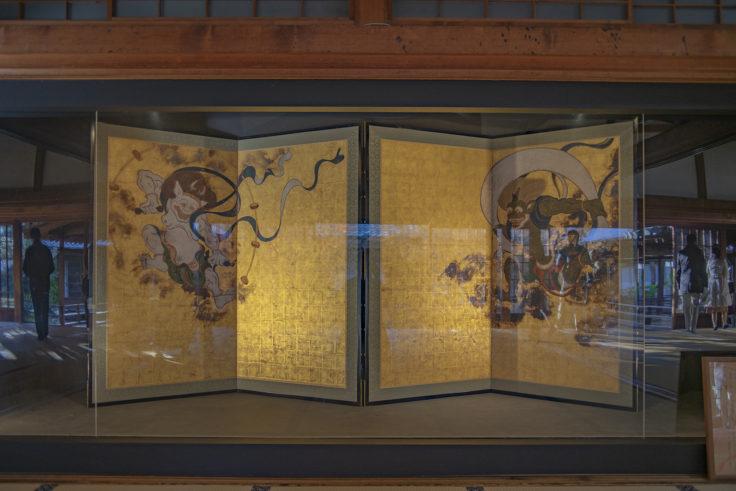 建仁寺大書院の風神雷神図屏風
