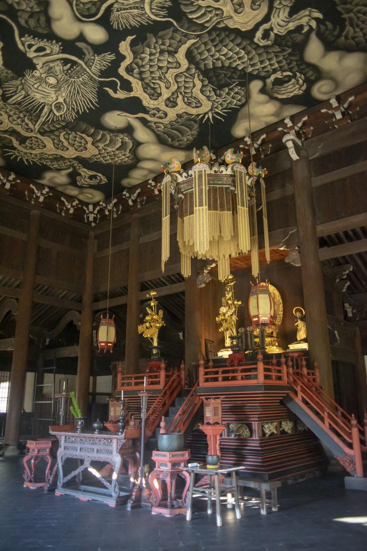 建仁寺法堂の仏像