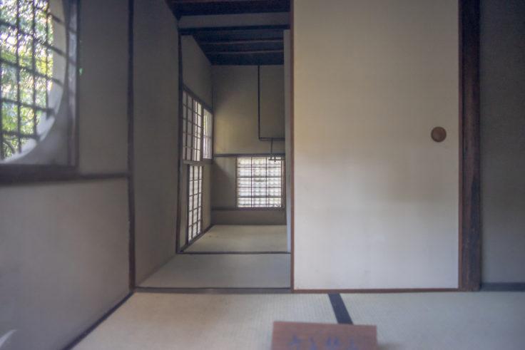 建仁寺茶室「東陽房」の内部
