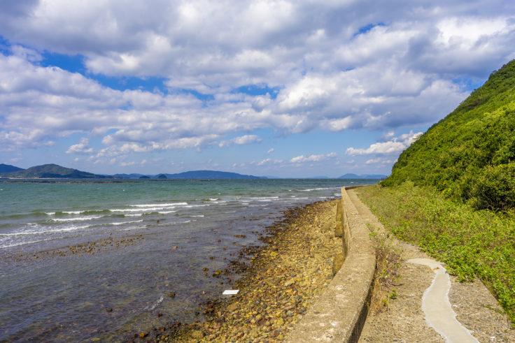 与治山公園海岸