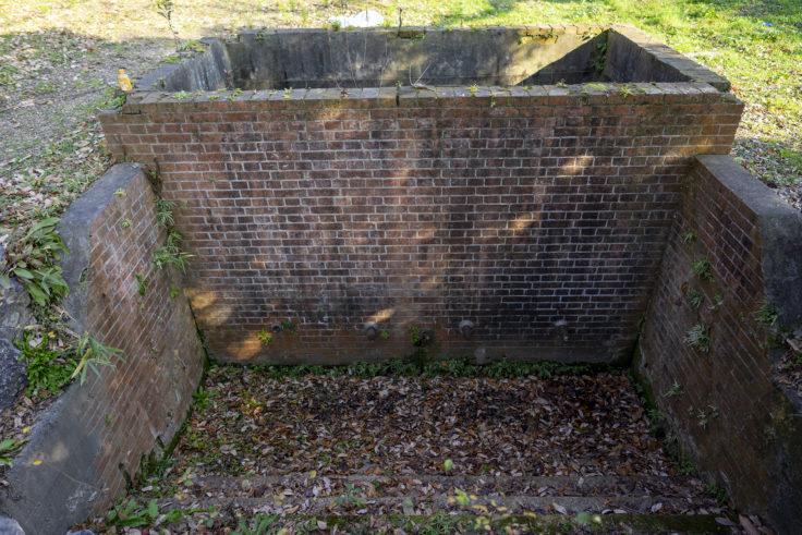 板東俘虜収容所の第1給水施設