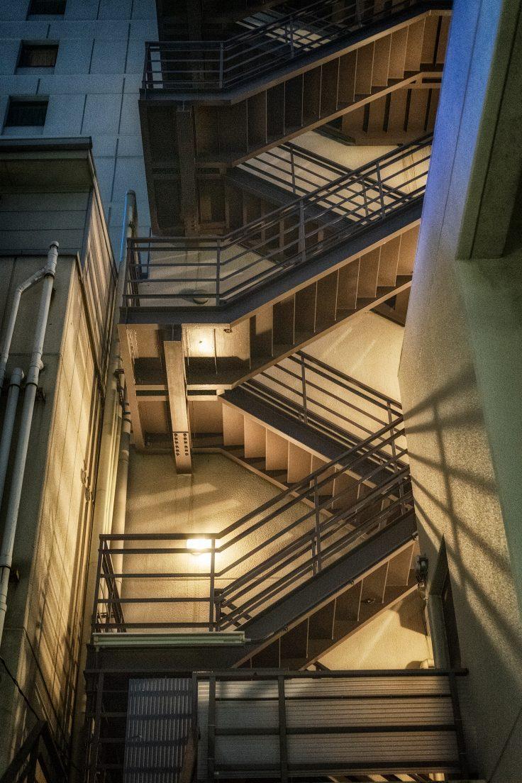 夜の階段2
