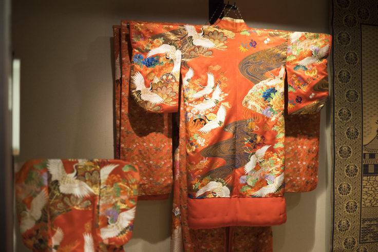 岡山城城主の間の衣装