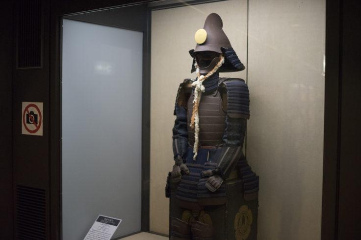 岡山城展示
