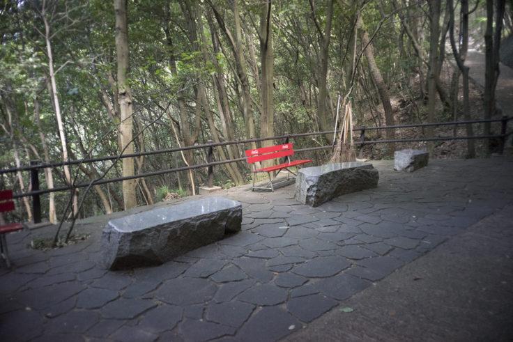 屋島登山道休憩所