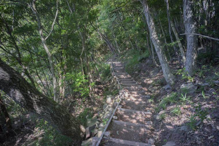 屋島城跡登山道