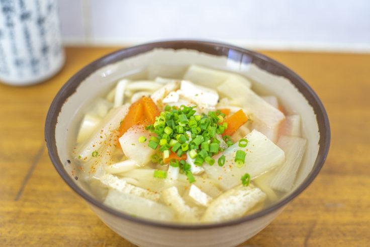 多田製麺所のしっぽくうどん