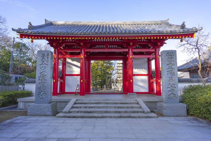 屋島寺の門