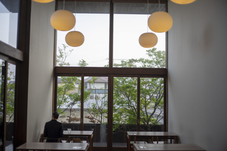 仏生山温泉の食事コーナー