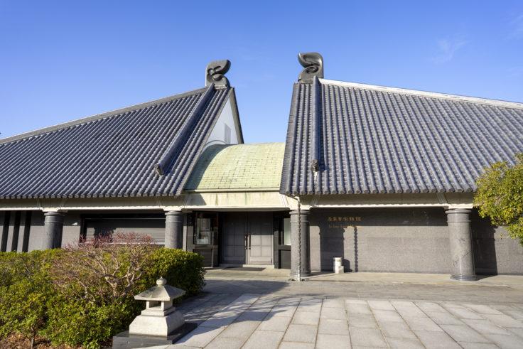 屋島寺宝物館外観
