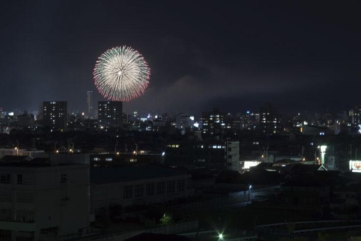 第52回さぬき高松まつり花火大会 どんどん高松6