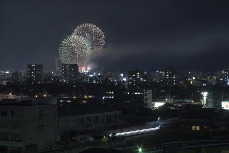 第52回さぬき高松まつり花火大会 どんどん高松9