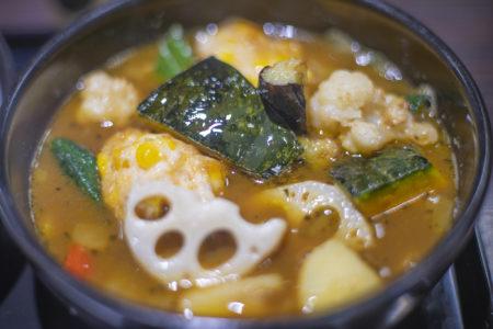 coco壱番屋のベジタブルスープカレー