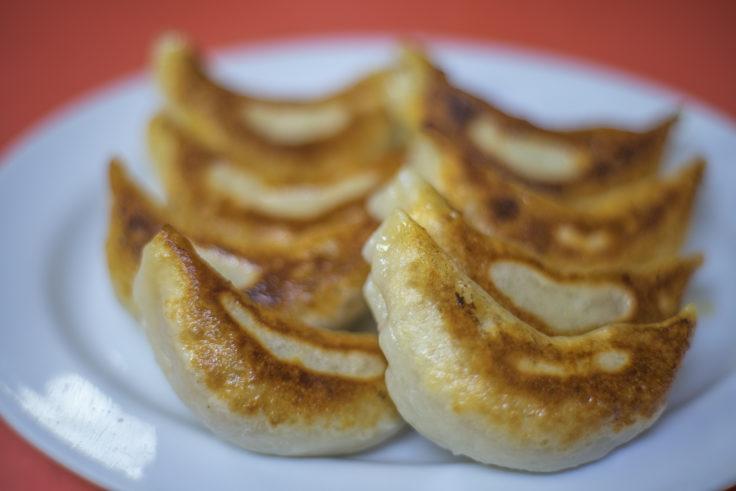 木蘭の餃子
