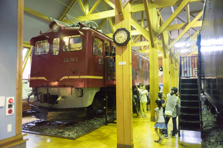 長浜鉄道スクエアのED70