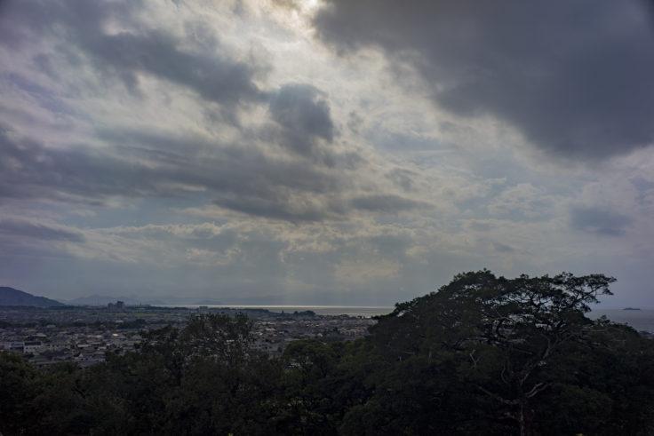 彦根城から見た琵琶湖2