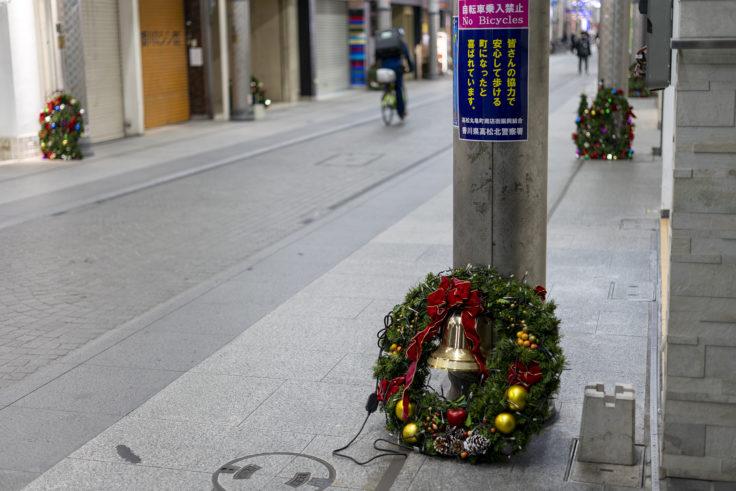 高松市商店街のクリスマス