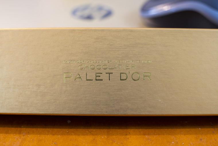 ショコラティエ・パレドオールの箱