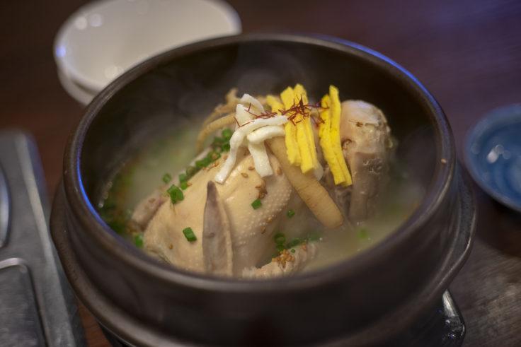 韓国家庭料理サランのサムゲタン