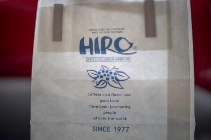 HIRO COFFEEの紙袋