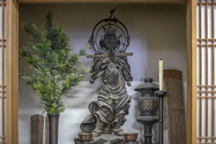 天龍寺の韋駄天