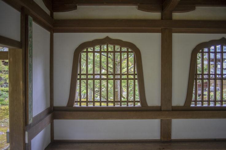 天龍寺多宝殿までの廊下2