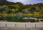 天龍寺大方丈から見た曹源池