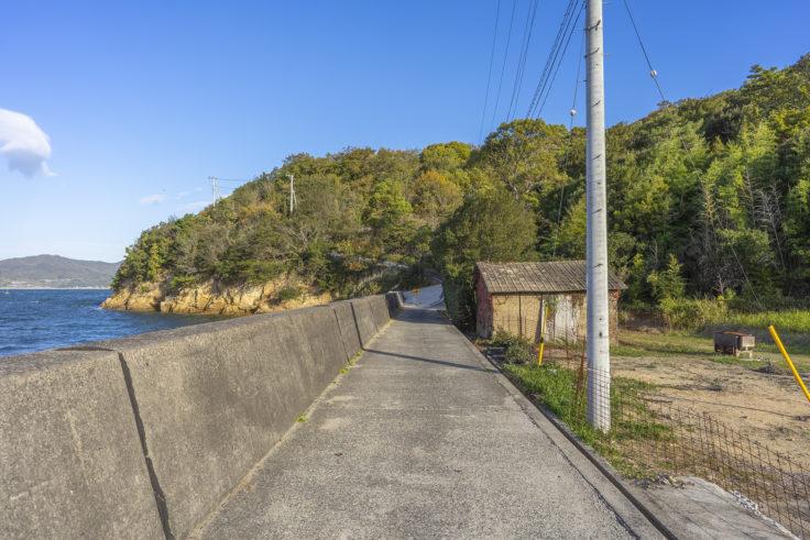 小串半島蜂ヶ浦の道