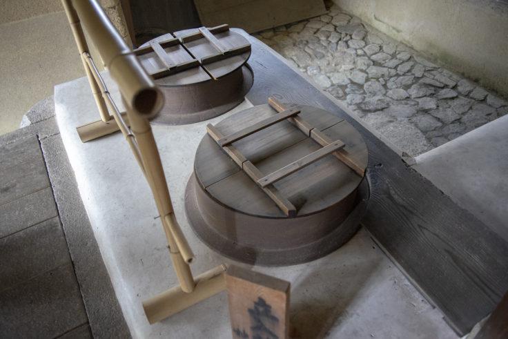 妙心寺浴室の釜