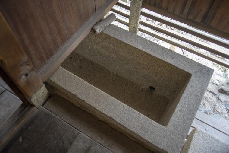 妙心寺浴室の浴槽