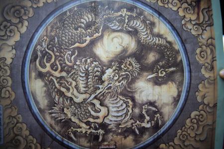 妙心寺雲龍図