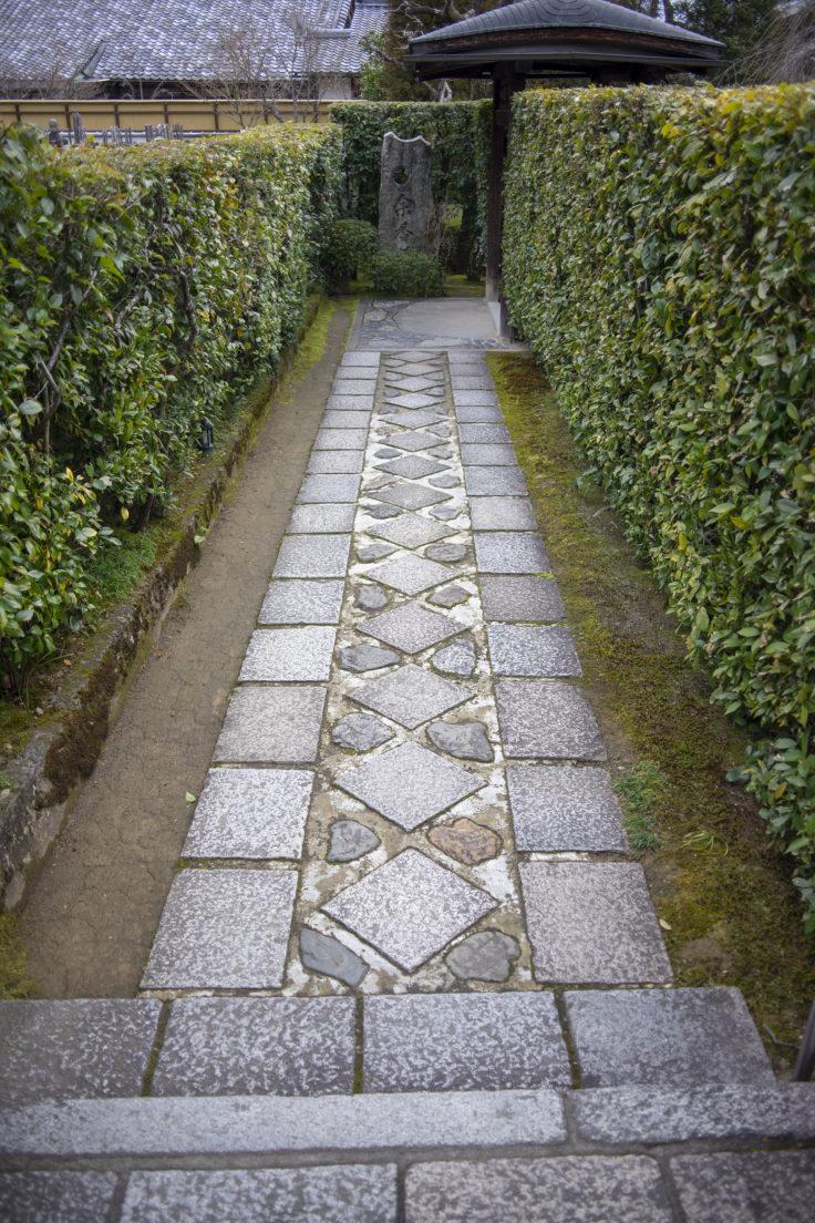 退蔵院の敷石