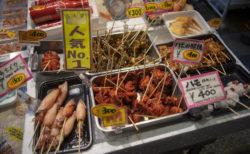 錦市場に並ぶ商品6