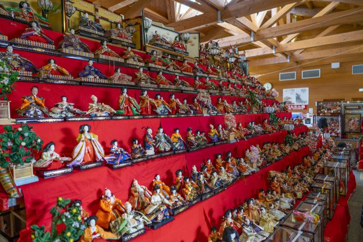 ウチノ海総合公園のひな人形2