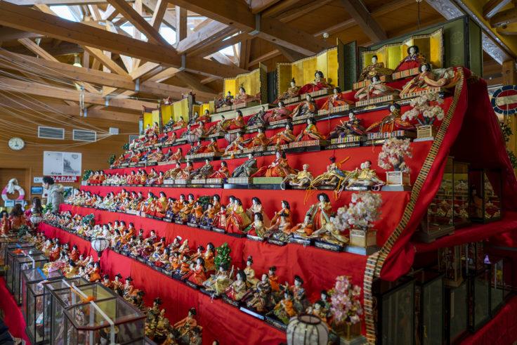 ウチノ海総合公園のひな人形3