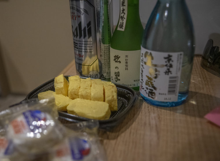 京都で部屋飲み
