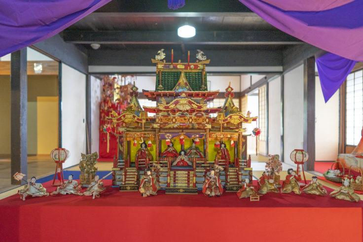 讃州井筒屋敷母屋のひな祭り