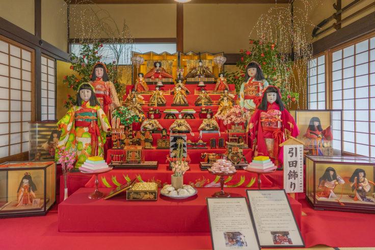 讃州井筒屋敷の引田飾り