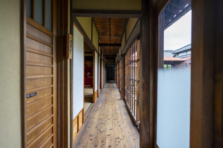 讃州井筒屋敷母屋の廊下