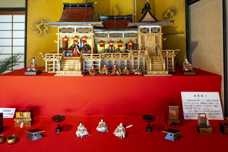 讃州井筒屋敷母屋の御殿飾り