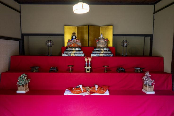讃州井筒屋敷母屋のひな人形2