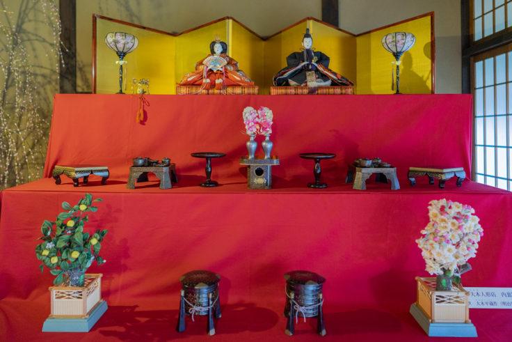 讃州井筒屋敷母屋のひな人形3