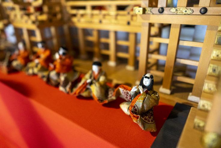 讃州井筒屋敷母屋のひな人形6