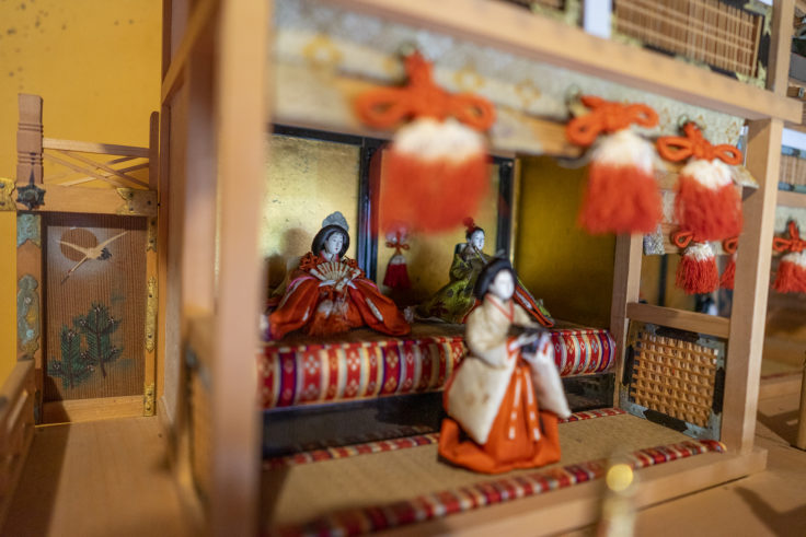讃州井筒屋敷母屋のひな人形4