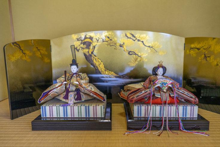 讃州井筒屋敷母屋の関東雛